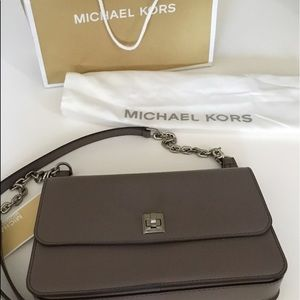 NWT Michael Kors Natalie cinder chain mssngr bag